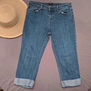 Nicole Miller cropped jeans size 10 ~EUC~